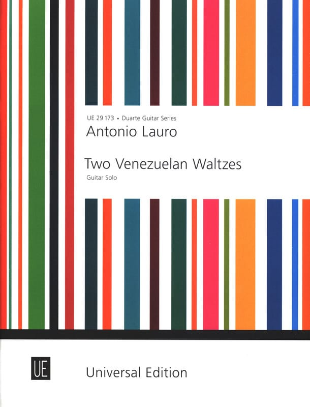 Antonio Lauro - 2 Venezuelan Waltzes - Guitar solo - Partition - di-arezzo.co.uk