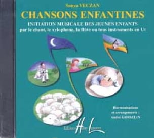 CD - Chansons Enfantines - Sonya Veczan - Partition - laflutedepan.com