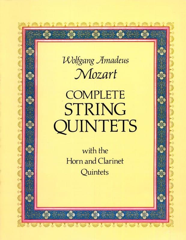 Complete String Quintets - MOZART - Partition - laflutedepan.com