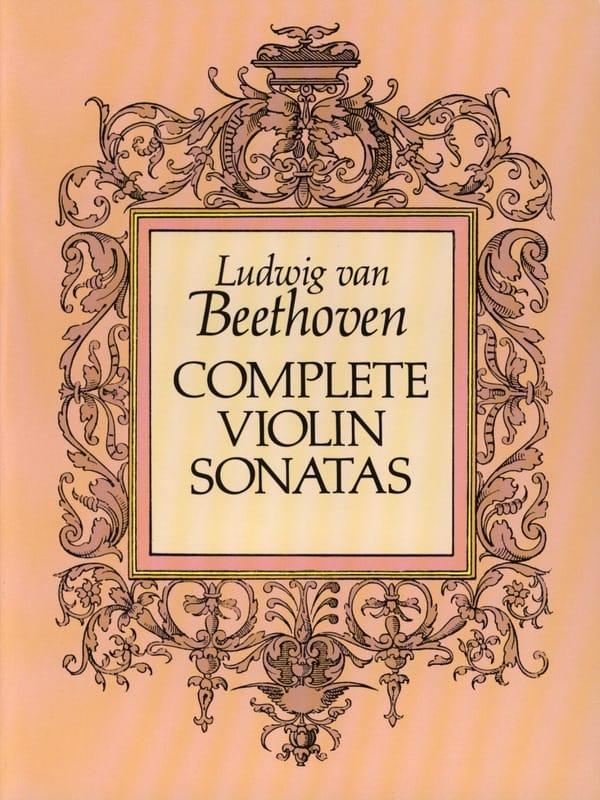 Complete Violin Sonatas - BEETHOVEN - Partition - laflutedepan.com