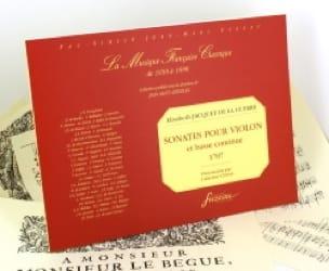 Sonates pour violon et basse continue 1707 - laflutedepan.com