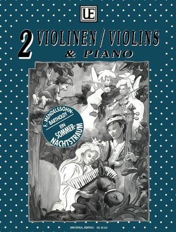 MENDELSSOHN - Sommernachtstraum - 2 Violinen Klavier - Partition - di-arezzo.co.uk