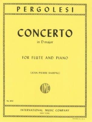Giovanni Battista Pergolesi - Concierto en Re mayor - Piano flauta - Partition - di-arezzo.es