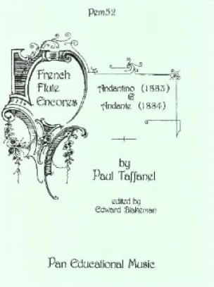 Paul Taffanel - Andantino 1883 and Andante 1884 - Flute - Partition - di-arezzo.co.uk