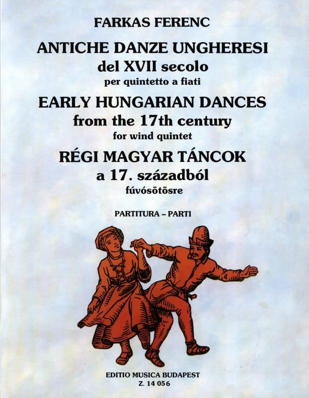 Antiche Danze Ungheresi Del 17. Secolo -quintetto a Fiati - laflutedepan.com