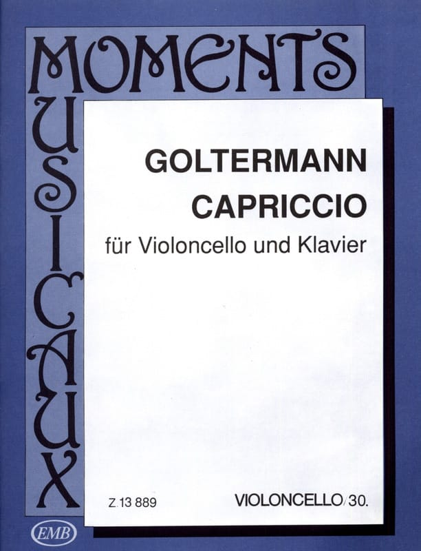 Georg Goltermann - caprice - Partition - di-arezzo.co.uk