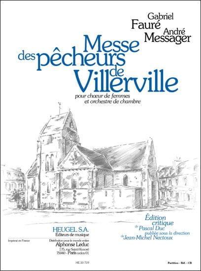 Messe des pêcheurs de Villerville - Conducteur - laflutedepan.com