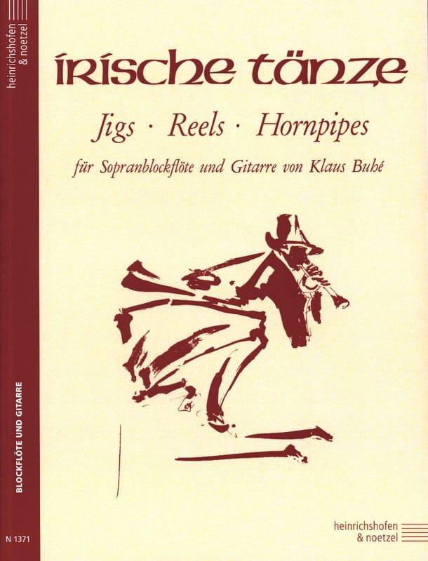 - Irische Tanze - Sopranblockflöte Gitarre - Partition - di-arezzo.com