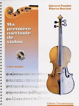 Poulet Gérard / Rochat Pierre - My first violin method - 1st year - Partition - di-arezzo.com