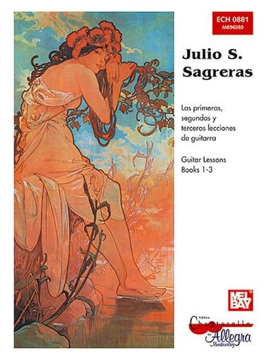 Julio S. Sagreras - Guitar Lessons - Books 1-3 - Partition - di-arezzo.com