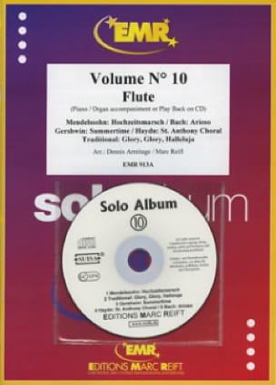 Solo Album - Volume 10 - Flûte - Partition - laflutedepan.com
