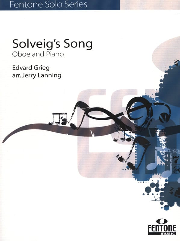 Edvard Grieg - Solveig's Song - Oboe - Piano - Partition - di-arezzo.co.uk