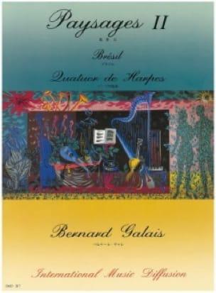 Paysages 2 - Brésil - Quatuor De Harpes - laflutedepan.com