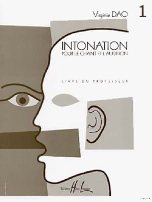 Virginie Dao - Intonation - Volume 1 - Prof. - Partition - di-arezzo.com