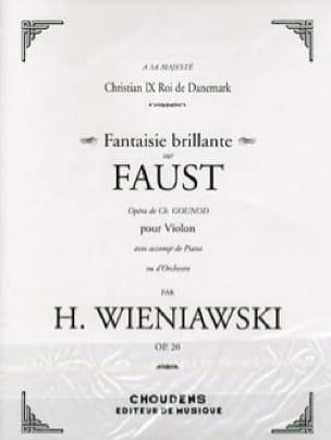 WIENIAWSKI - Shiny Fantasy en Fausto op. 20 - Partition - di-arezzo.es