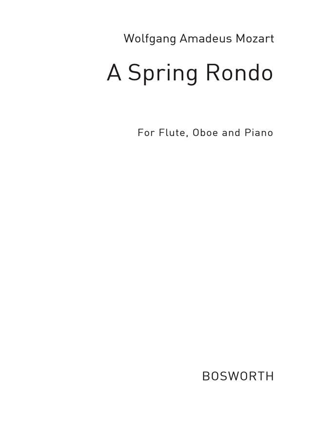 A Spring Rondo - Trio Flûte-Hautbois-Piano - MOZART - laflutedepan.com