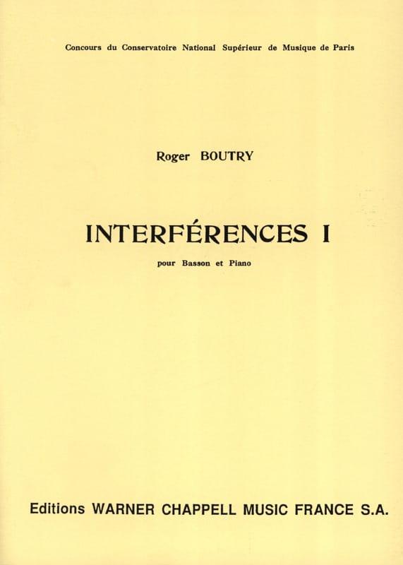 Roger Boutry - Interference 1 - Partition - di-arezzo.com