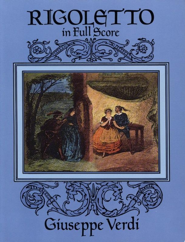 VERDI - Rigoletto - Full Score - Partition - di-arezzo.co.uk
