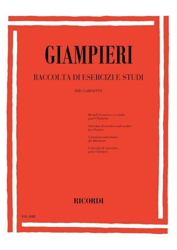 Raccolta di esercizi e studi - Clarinetto - laflutedepan.com