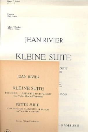 Petite Suite - Partitur und Stimmen - Jean Rivier - laflutedepan.com