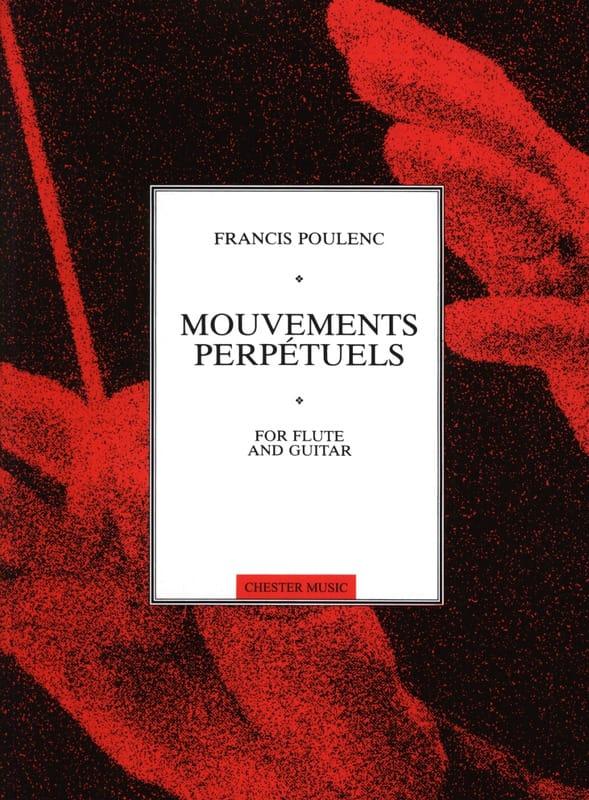 Mouvements perpétuels -Flûte guitare - POULENC - laflutedepan.com