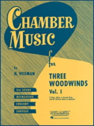 - Chamber Music for 3 Woodwinds Vol 1 - Partition - di-arezzo.co.uk