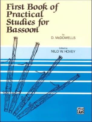 First Book of Practical Studies for Bassoon - laflutedepan.com