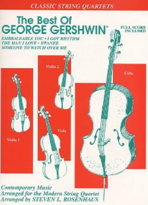 George Gershwin - The Best Of George Gershwin - String Quartet - Partition - di-arezzo.com