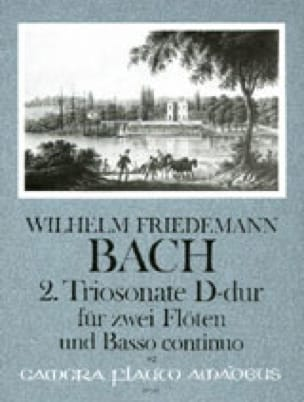 Triosonate Nr. 2 D-Dur - 2 Flöten Bc - laflutedepan.com