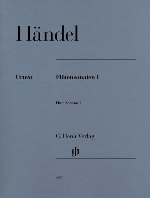 HAENDEL - Sonatas for flute, volume 1 - Partition - di-arezzo.com