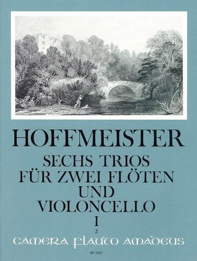 6 Trios op. 31 - Bd. 1 : Nr. 1-3 -2 Flöten Violoncello - laflutedepan.com