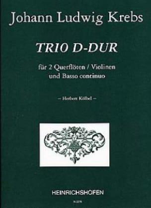 Trio D-Dur - 2 Flöten Violinen Bc - laflutedepan.com