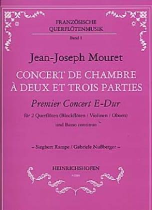 1er Concert de chambre à 2 et 3 parties en mi majeur - laflutedepan.com