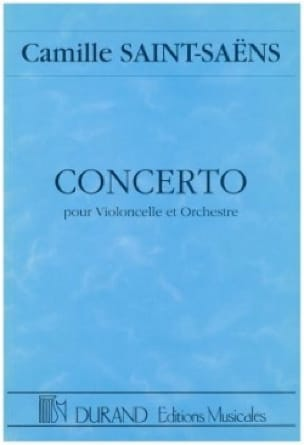 Camille Saint-Saëns - Cello Concerto No. 1 op. 33 - Driver - Partition - di-arezzo.co.uk