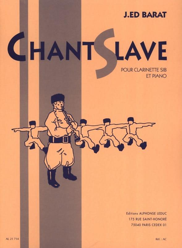 Joseph-Edouard BARAT - Slavonic chant - Partition - di-arezzo.com