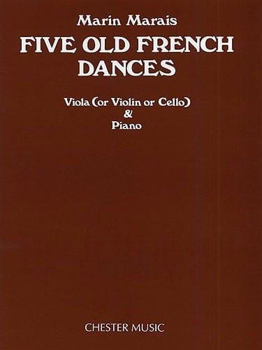 Five Old French Dances - Alto - Marin Marais - laflutedepan.com