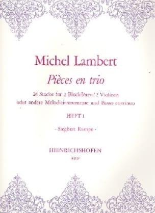 Pièces en trio - Heft 1 - 2 Blockflöten Bc - laflutedepan.com
