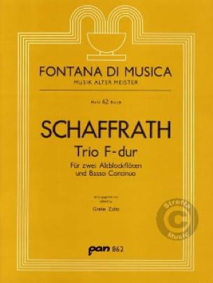 Trio F-Dur - 2 Altblockflöten BC - laflutedepan.com