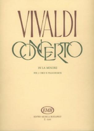 VIVALDI - Concierto en el minore Rv 536 - 2 oboi piano - Partition - di-arezzo.es