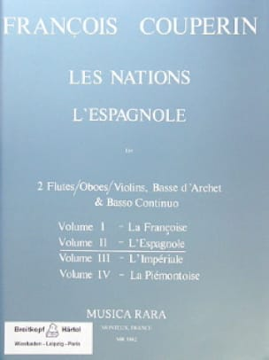 François Couperin - The Nations - Volume 2: The Spanish - Partition - di-arezzo.co.uk