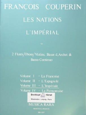 Les Nations - Volume 3 : L' Impériale - COUPERIN - laflutedepan.com