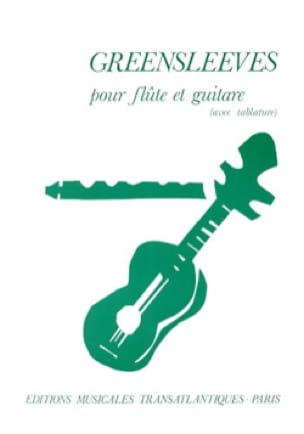 Greensleeves - Flûte guitare - Partition - Duos - laflutedepan.com