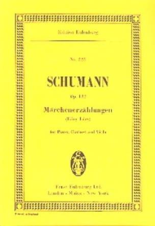 Märchenerzählungen, op. 132 - SCHUMANN - Partition - laflutedepan.com