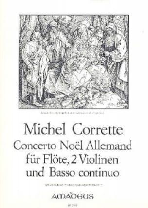 Concerto Noël allemand - Flöte 2 Violinen BC - laflutedepan.com