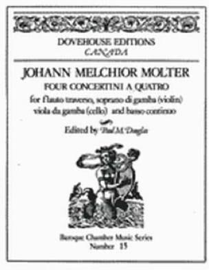 4 Concertini A Quatro - Flûte-Violon-Cello-B. C. - laflutedepan.com