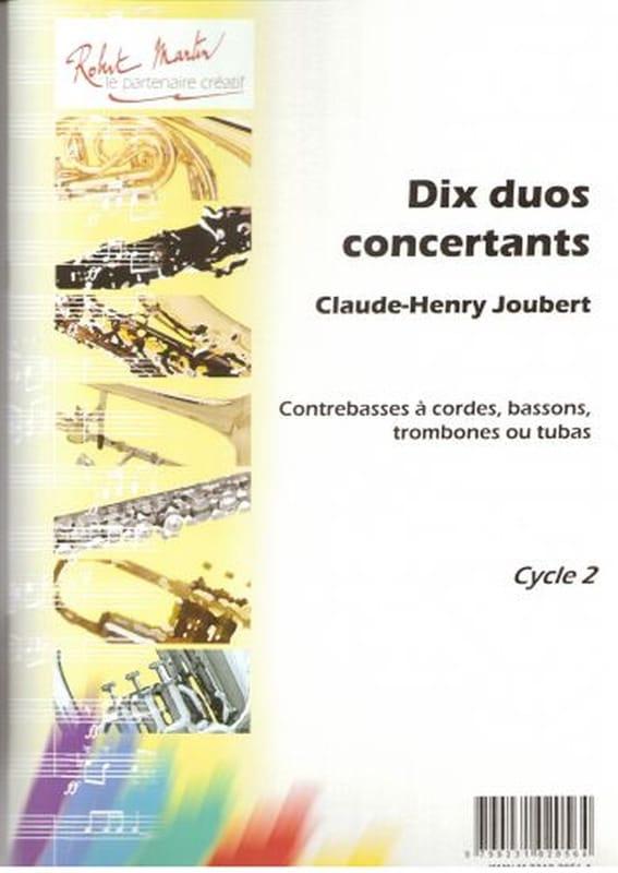 Claude-Henry Joubert - 10 Concertos Duets - Partition - di-arezzo.co.uk