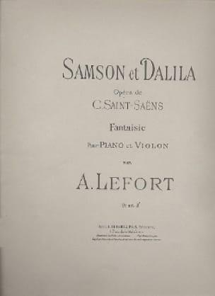 Fantaisie, Samson et Dalila - laflutedepan.com