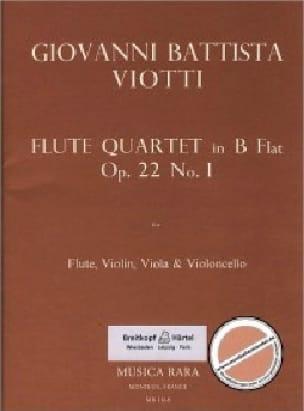 Flute Quartet in B flat op. 22 n° 1 - Flute violin viola cello - laflutedepan.com