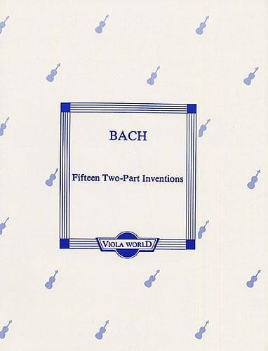 15 Two-Part Inventions - BACH - Partition - Alto - laflutedepan.com