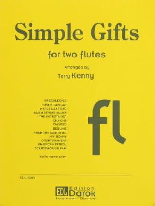 Simple Gifts - 2 Flutes - Partition - laflutedepan.com